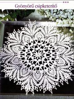 Вязание крючком и спицами/Crochet and knitting: Салфетки крючком