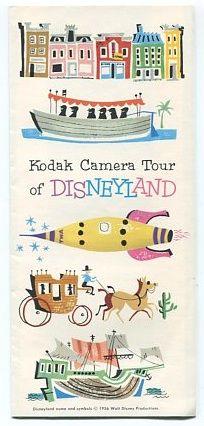 Too cute :) brochures, disneyland ad, disney histori, vintage disneyland, vintag kodak, kodak camera, camera tour, vintag disneyland, attract poster