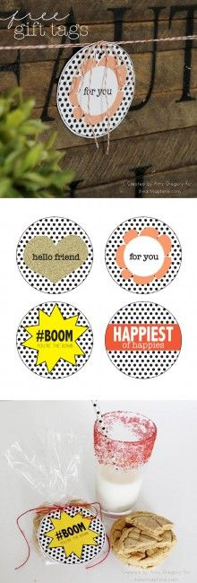 Love these free printable gift tags ...perfect for any occasion!