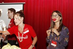 Michelle and Aubrey being silly by Pinterest HQ, via Flickr