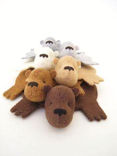 Dandyrions - Bear Rug Coasters