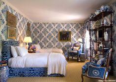 fun blue bedroom