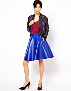 Baum und Pferdgarten Coated Cotton Full Skirt