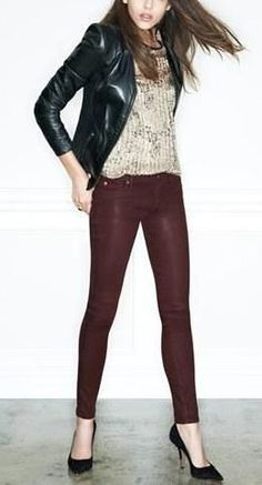 Yes. Crimson Wax Skinny Jeans.