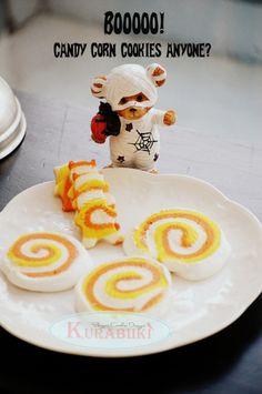 Halloween Candy Corn Cookies