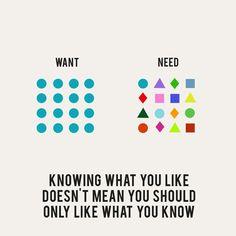 Eye-Opening Need vs Want Illustrations by Erin Hanson