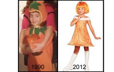 Silly to sexy.  The sexualization and adultification of children's costumes
