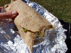 Tuna Avocado Wrap - Healthy Lunch Idea...YUM!