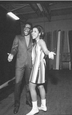 Tammi Terrell and Marvin Gaye, late 60s