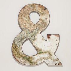 Huge map ampersand