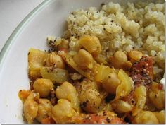 Craving Indian but running out of time? Easy, Healthy Chickpea Curry   Blogging Over Thyme