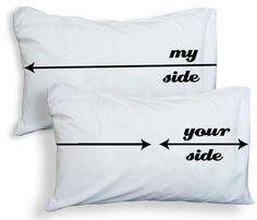 Bed Hog Pillowcases