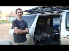 Have a Mini-Van? Genius! hammock in van