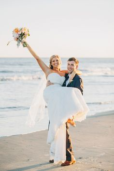 Happily Ever After!! Blush & Champagne Charleston Wedding at Wild Dunes Resort | #WildDunesWeddings | Renee Nicole Design + Photography | http://wilddunesweddings.com