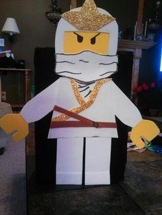 Lego Ninja Valentine Box for JW