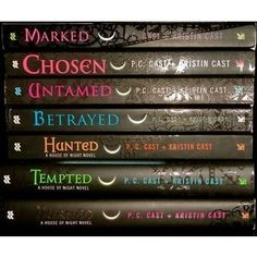 House of Night books 1-8 antatro