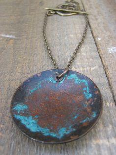 Bohemian necklace by CopperTreeArt