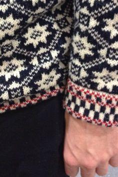 stranded knitting sweater ~ inspiration