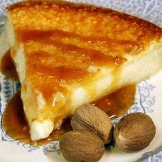 Creamy Crème Brûlée pie !