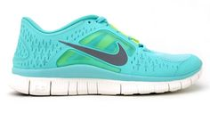 Nike's newest Free runners for Spring come in a pretty spearmint green, among other bright shades