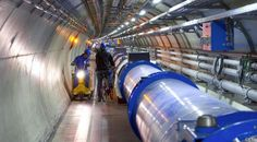 CERN Discovery Of Unevenly-Decaying Particle Gives Clue Into Why There's Not More Antimatter Around--I have no idea what they're talking about but that's one cool picture of a really big tube!