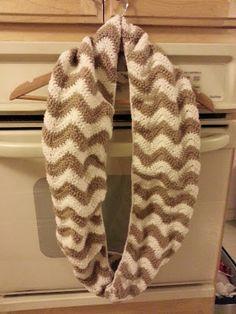 Free Chevron Crochet Scarf Pattern | best stuff