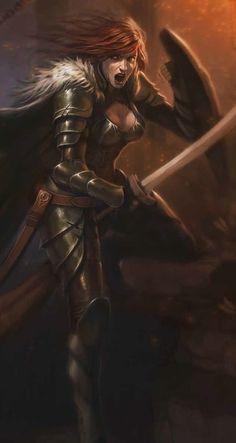 Warrior Woman