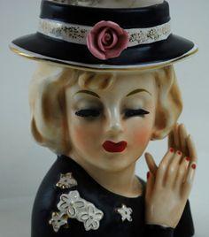 Lady Head Vase