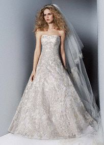 A Line Wedding Dresses and Gowns by David's Bridal