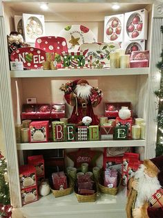 Having personalized accents around the house during the Christmas season really inspires memories and gets you in the mood for the holidays.        One of the many thousands of beautiful accents at TreeTime's Christmas showroom. www.treetime.com