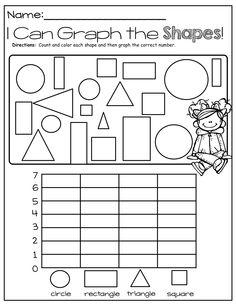 Kindergarten Graphing - Laptuoso