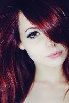 That red hair!