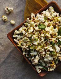 Nitehawk Popcorn Recipe: lime zest, cotija cheese & cilantro!