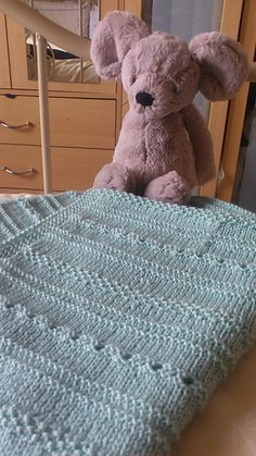 Sweet baby blanket and free pattern!