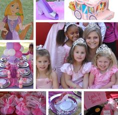 Pirate and Princess Birthday party idea