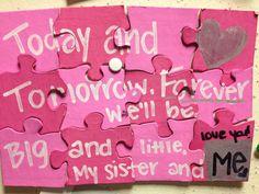 #Sorority #Greek #Big #Little #Reveal #DIY #Puzzle #Sisters