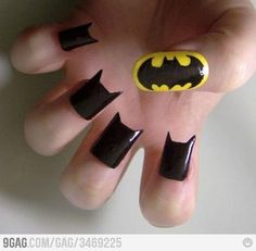 Batman nails! I love these so much!
