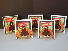 thanksgiving turkey, thanksgiv card, place cards, thanksgiving cards, turkey paper, turkey placecard, doodlebug design, paper crafts, thanksgiv placecard