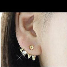 Cute earrings. Wish they didn't look so cheap though