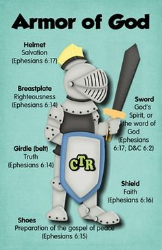 Armor of God 4x6 printable --We did this every morning on the way to school when the kids were young !