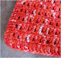 Art Threads: Monday Project - Crocheted Dishcloths