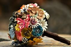 Most amazing brooch bouquet