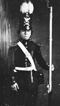 (c.1847) US Army Soldier at the time of the Mexican War