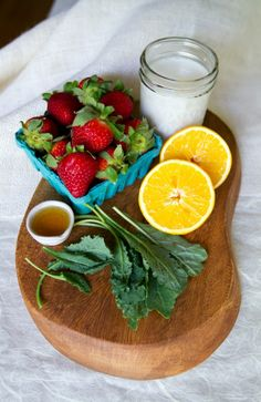 Strawberry and Kale