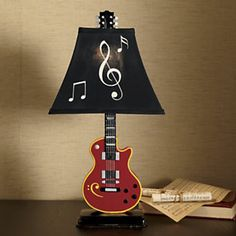 Lamp, American Roots Guitar. Very cool
