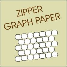 FREE DOWNLOAD! ZIPPER GRAPH PAPER - bead crochet