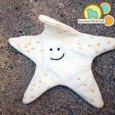 Crinkle (sound) star fish DIY