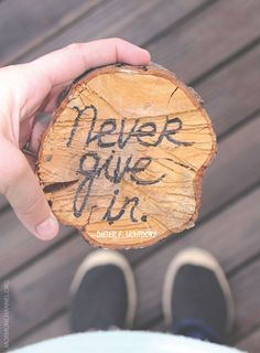 """""""Never give in. Never surrender. Never allow despair to overcome your spirit."""" —Dieter F. Uchtdorf"""