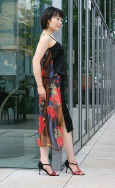 Dress name; ABRAZO. (Variation) '2012~ model; Mis.AO design ; DIFERENTE^tokyo tango clothes.