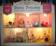 Petite Princess Furniture by Ideal 1964